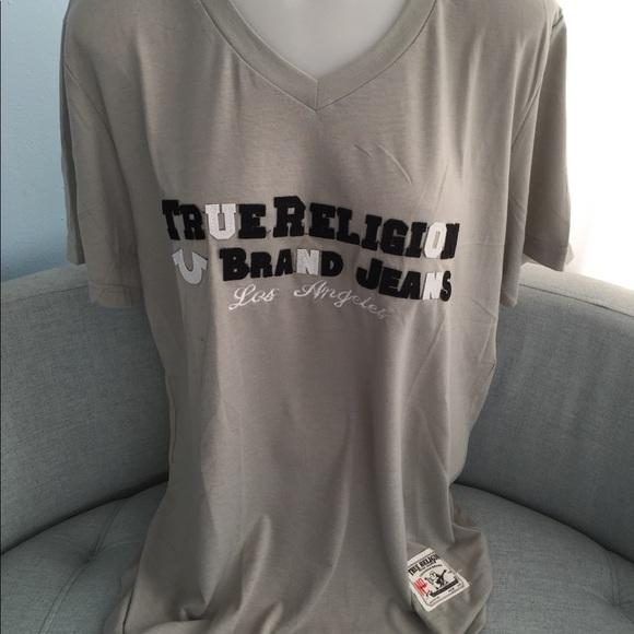 True Religion Other - Men's crew neck True Religion short sleeve shirt